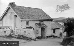 Pilchard Inn, Burgh Island c.1952, Bigbury-on-Sea