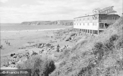Bigbury-on-Sea, The Beach 1963