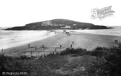 Bigbury-on-Sea, The Beach And Burgh Island 1931
