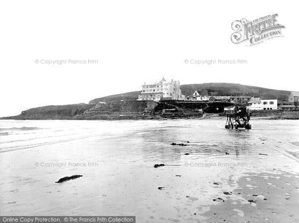 Bigbury On Sea, the Burgh Island Hotel 1931