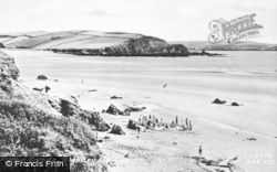 Bigbury-on-Sea, The Sands c.1952