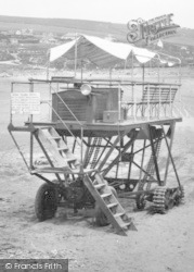 Bigbury-on-Sea, The Tractor c.1935