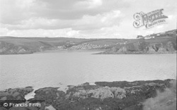 Bigbury-on-Sea, View From Burgh Island 1952