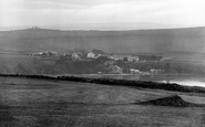 Bigbury-on-Sea, View From Golf Links 1925