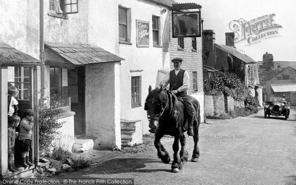 Bigbury, The Royal Oak 1925