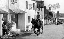 Bigbury Village, The Royal Oak 1925