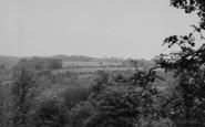 Biggin Hill, A Glimpse Across The Trees c.1960