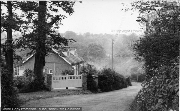 Biggin Hill, Lusted Hill Lane c.1960