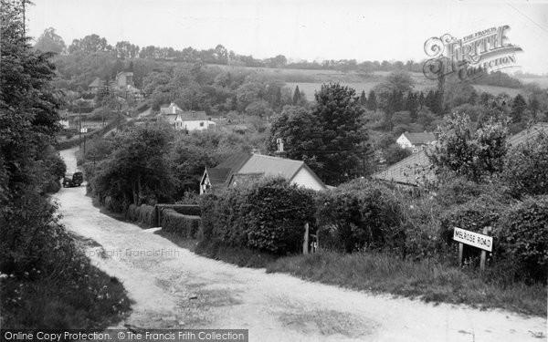 Biggin Hill, Melrose Road c.1960