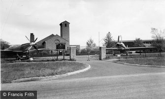 Biggin Hill, St George's Chapel of Remembrance RAF c1960