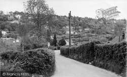 Biggin Hill, Stock Hill Lane c.1960