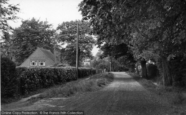 Biggin Hill, Sutherland Avenue c.1960