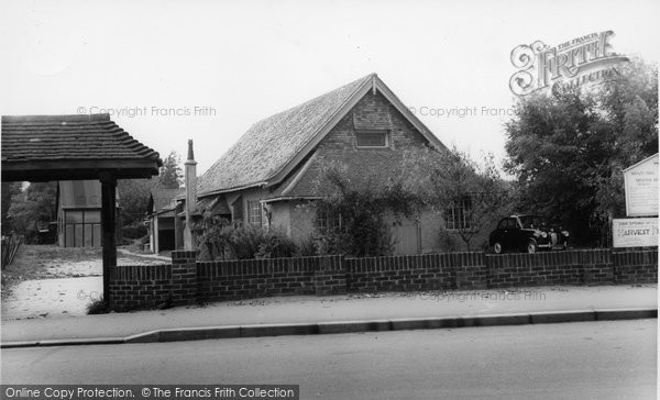 Biggin Hill, The Baptist Church c.1960