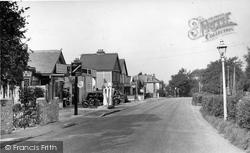Biggin Hill, The Main Road c.1955