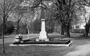 Biggin Hill, The Memorial c.1950