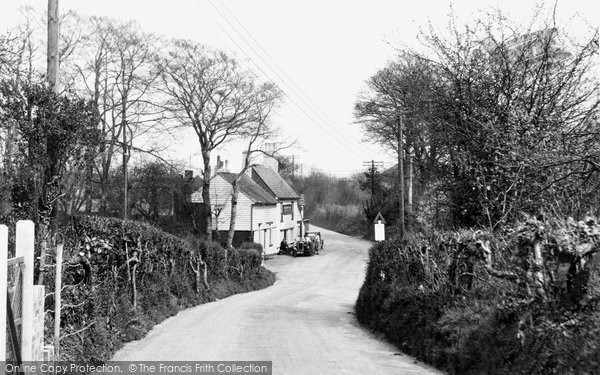Photo of Biggin Hill, The Old Jail Inn c.1950