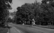 Biggin Hill, The War Memorial c.1955