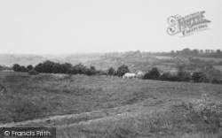 Biggin Hill, Valley From Westerham Road c.1960