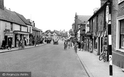 High Street c.1955, Biggleswade