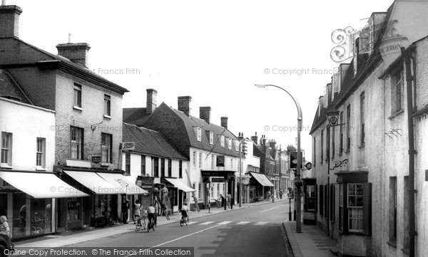 Biggleswade, High Street c.1960