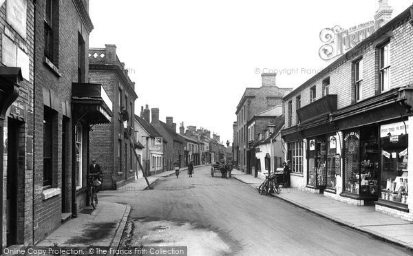 Biggleswade, Hitchin Street 1925