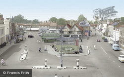 Market Place c.1960, Biggleswade
