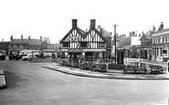 Biggleswade, Market Square c1955