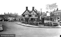 Market Square c.1955, Biggleswade