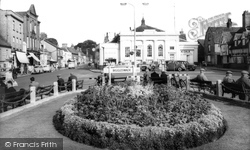 Market Square c.1960, Biggleswade