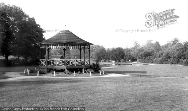 Biggleswade, Recreation Ground c1955