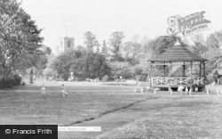 Biggleswade, Recreation Ground c.1960