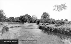 River Ivel c.1955, Biggleswade
