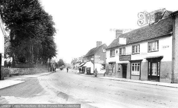 Photo of Biggleswade, Shortmead Street 1925