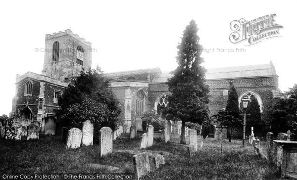 Biggleswade, St Andrew's Parish Church 1925