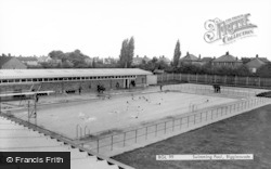 Biggleswade, Swimming Pool c.1965