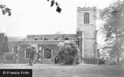 The Parish Church c.1960, Biggleswade