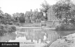 The River And Mill c.1960, Biggleswade