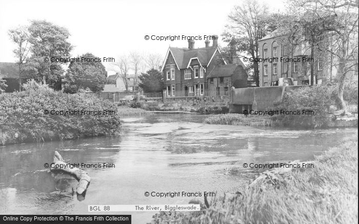 Photo of Biggleswade, The River c.1965