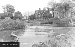 Biggleswade, The River c.1965