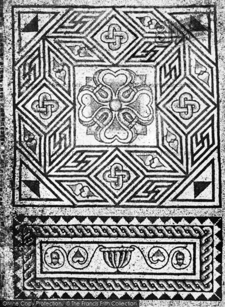 Photo of Bignor, Roman Villa, Box Pattern c.1965