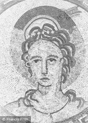 Bignor, Roman Villa, Head Of Venus c.1965