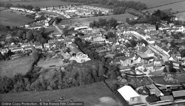Bildeston, Aerial View c.1965