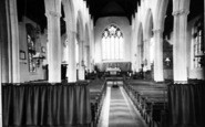 Bildeston, Church Interior c.1955
