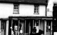 Bildeston, Grocer's And Draper's Shop c.1960