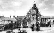 Bildeston, Market Square c.1965