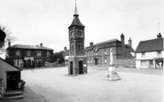 Bildeston, The Market Place c.1960
