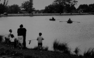 Billericay, A Family By The Lake c.1965