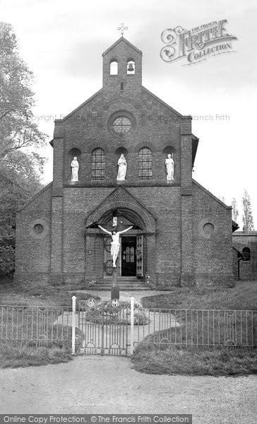 Billericay, Catholic Church c.1955