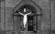 Billericay, Catholic Church, Entrance c.1955