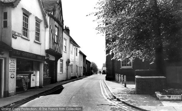 Chapel Street, Billericay, 1965.  (Neg. B319069)  © Copyright The Francis Frith Collection 2005. http://www.francisfrith.com